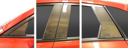 【ハセプロ】マジカルカーボンシート マツダ CX-3 DK5FW/AW(2015.2~) 4P×左右 ブラック