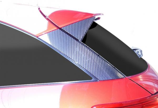 ステッカー【ハセプロ】マジカルカーボンシート マツダ CX-3 DK5FW/AW(2015.2~) リアウイングサイド シルバー