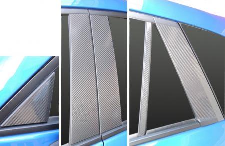 【ハセプロ】マジカルカーボンシート マツダ CX-5 ディーゼルDA-KE2/ガソリンDBA-KEE(2012.2~) 5P×左右 ブラック