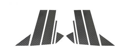 【ハセプロ】マジカルカーボンシート マツダ アクセラスポーツBMEFS(2013.11~) 5P×左右 ブラック