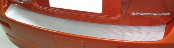 【ハセプロ】マジカルカーボンシート 三菱 ギャランフォルティススポーツバック CX4A(2008.12~) カーゴステップガード ブラック