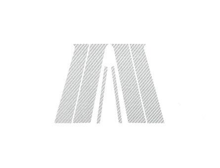 ステッカー【ハセプロ】マジカルカーボンシート 三菱 ランサーエボリューションX/ギャランフォルティス 銀