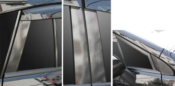 【ハセプロ】マジカルカーボンシート スバル インプレッサスポーツ DBA-GP系(2011.12~) バイザーカット8P×左右 ガンメタ