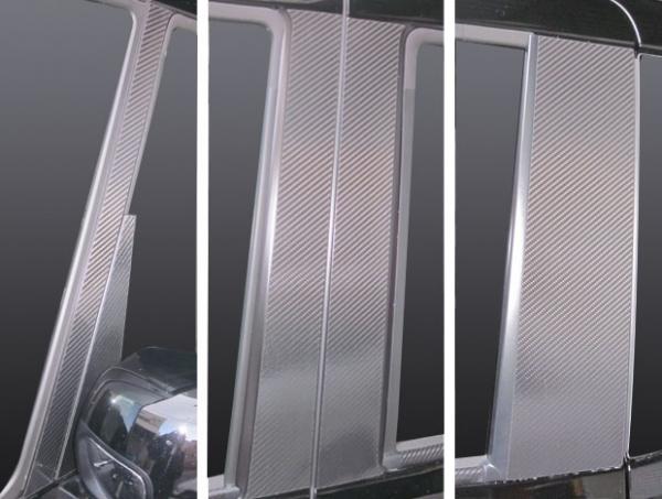ステッカー【ハセプロ】マジカルカーボンシート ホンダ N-BOX・N-BOXカスタムJF1・2(2011.12~) フルセット 5P×左右 ブラック