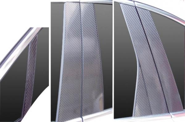 【ハセプロ】マジカルカーボンシート ポルシェ カイエン 958型(2010.3~) 6P×左右 ブラック