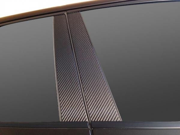 【ハセプロ】マジカルカーボンシート ポルシェ パナメーラ 970(2009.3~) 2P×左右 ブラック