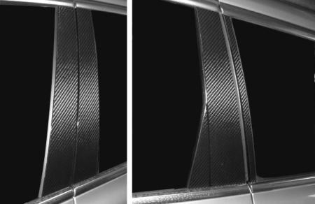 ステッカー【ハセプロ】マジカルカーボンシート ボルボ V70 BB5254W・6304W・6324W(2007.11~) ブラック
