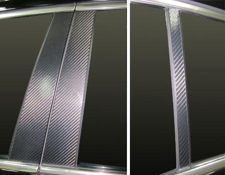 ステッカー【ハセプロ】マジカルカーボンシート フォルクスワーゲン パサート3C(2006.4~2010.3) 3P×左右 ブラック