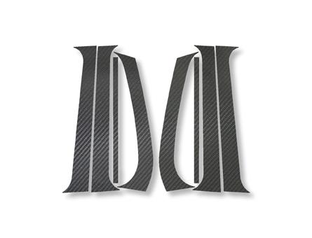 【ハセプロ】マジカルカーボンシート フォルクスワーゲン ゴルフ3 1H(1992.4~1998.8) 4P×左右 ブラック