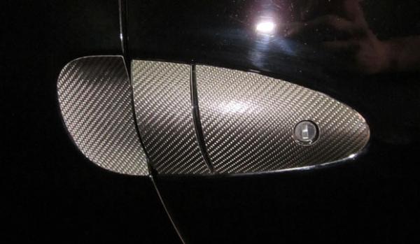 【ハセプロ】マジカルカーボンシート ホンダ CR-Z ZF1(2010.2~) ドアノブセット(ノーマルキー用) ブラック