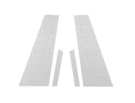 ステッカー【ハセプロ】マジカルカーボンシート ベンツ CLSクラス C219(2005.2~2011.2) 2P×左右 シルバー