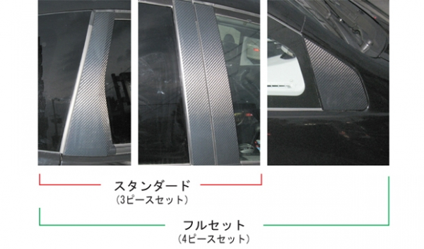 ステッカー【ハセプロ】マジカルカーボンシート ホンダ フィット/フィットRS GE6~9(2007.10~)/フィットハイブリッド GP1(2011.6~) ガンメタ