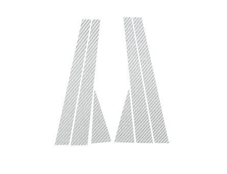 ステッカー【ハセプロ】マジカルカーボンシート ホンダ オデッセイRA6,7.8.9 銀
