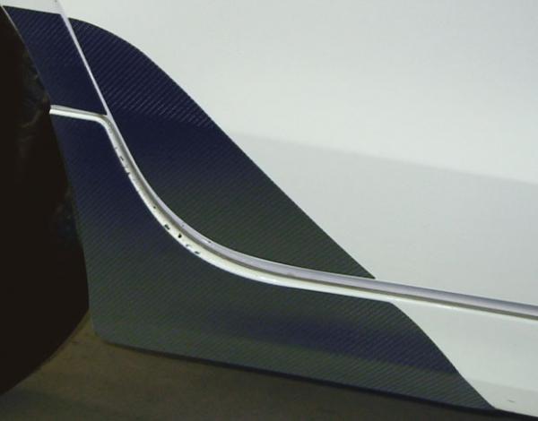 ステッカー【ハセプロ】マジカルカーボンシート トヨタ ヴィッツ(RS専用) SCP/NCP90系(2005.2~) チッピング防止 ブラック