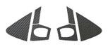 ステッカー【ハセプロ】マジカルカーボンシート トヨタ ヴィッツ90系 オプションAセット 黒