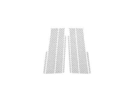 ステッカー【ハセプロ】マジカルカーボンシート トヨタ ヴィッツ90系 スタンダードセット 銀