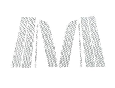 ステッカー【ハセプロ】マジカルカーボンシート トヨタ カローラルミオンZRE/NZE150N系 シルバー