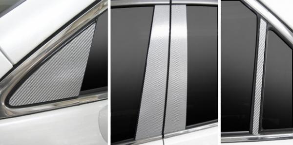 ステッカー【ハセプロ】マジカルカーボンシート トヨタ クラウンGRS200系(2008.2~) マットブラック