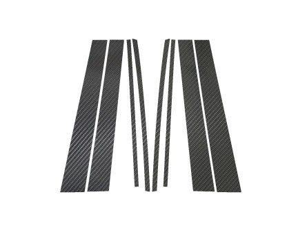 ステッカー【ハセプロ】マジカルカーボンシート トヨタ クラウンエステートワゴン JZS170系 黒
