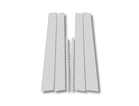 ステッカー【ハセプロ】マジカルカーボンシート トヨタ クラウンマジェスタUZS170系 銀