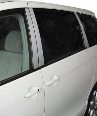 【ハセプロ】マジカルカーボンシート トヨタ エスティマ50系ピラーセット フルセットVer.1(4P) バイザーカットタイプ シルバー