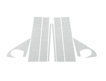 【ハセプロ】マジカルカーボンシート トヨタ ist ZSP/NCP 110系(2007.7~) 銀