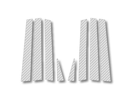 ステッカー【ハセプロ】マジカルカーボンシート トヨタ エスティマMCR・ACR/30・40W(2000.1~05.12) 4P×2 シルバー