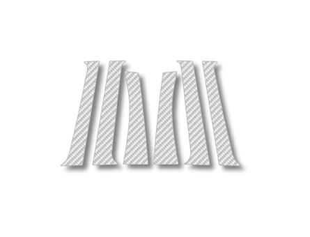 ステッカー【ハセプロ】マジカルカーボンシート トヨタ ウィッシュANE/ZNE10系 銀