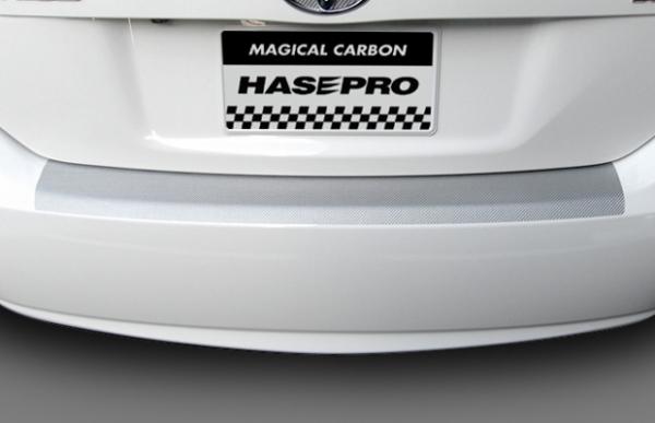 ステッカー【ハセプロ】マジカルカーボンシート プリウス ZVW30(2009.5~) カーゴステップガード ブラック