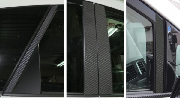 ステッカー【ハセプロ】マジカルカーボンシート トヨタ プリウスアルファ ZVW40W/41W(2011.5~) 4P×左右 ガンメタ