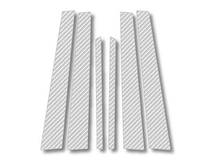 ステッカー【ハセプロ】マジカルカーボンシート トヨタ セルシオ30系 銀