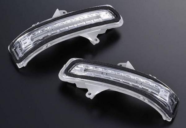 MH34 スティングレイ | 電子パーツ その他【ハーテリー】ワゴンR スティングレー MH34 LEDドアミラーウインカーユニット 流星タイプ クリアレンズ