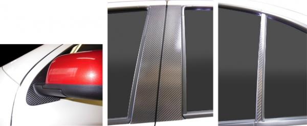 【ハセプロ】マジカルカーボンシート ニッサン マーチ K13系(2010.7~) フルセット 4P×左右 シルバー