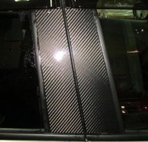 ステッカー【ハセプロ】マジカルカーボンシート ニッサン ジューク F15(2010.6~) ブラック