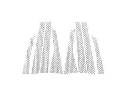 ステッカー【ハセプロ】マジカルカーボンシート コルトプラス 銀