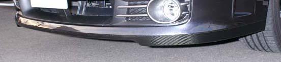 【ハセプロ】マジカルカーボンシート スバル インプレッサ WRX-sti GRB フロントスポイラー シルバー
