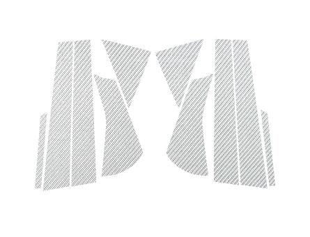 ステッカー【ハセプロ】マジカルカーボンシート スズキ セルボ HG21S (2006.11~) 銀