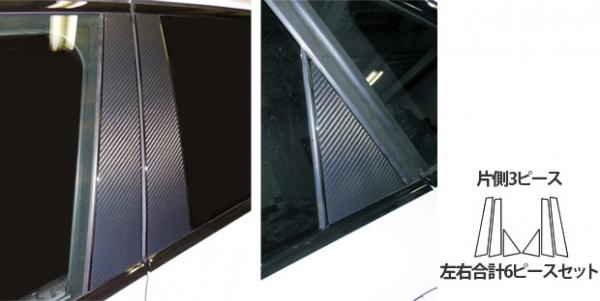【ハセプロ】マジカルカーボンシート BMW 2シリーズ アクティブツアラー F45(2014.10~) 3P×左右 ブラック