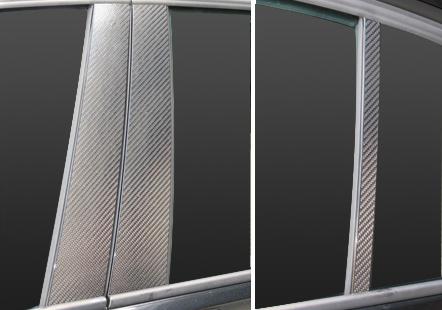 【ハセプロ】マジカルカーボンシート BMW 3シリーズ セダン F30(2012.1~) 3P×左右 ブラック