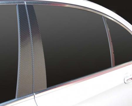 【ハセプロ】マジカルカーボンシート BMW 7シリーズ F01/02/04(2009.3~) 3P×左右 ブラック