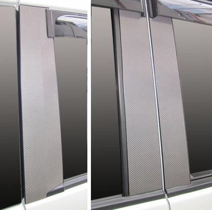 【ハセプロ】マジカルカーボンシート スズキ パレット/パレットSW MK21S(2009.9~) バイザーカット ブラック