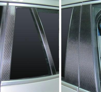 【ハセプロ】マジカルカーボンシート BMW X3 F25(2011.3~) 4P×左右 ガンメタ