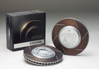 ストアー GC IMPREZA ブレーキローター フロント DIXCEL インプレッサ ディクセル GC1 ディスクローター 6本 92 HS 10~00 ABS無 ハイクオリティ Type スリット 08