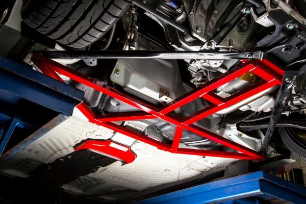 S660 | フロアサポート / メンバーサポート【バックヤード】S660 JW5 リア アンダーブレース