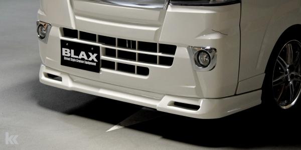 S500/510P ハイゼットトラック   フロントハーフ【ブラックス】ハイゼットトラック S500系 フロントハーフスポイラー3