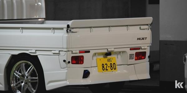 S500/510P HIJET TRACK   リアバンパー   BLAX S500/510P ハイゼットトラック   リアバンパー【ブラックス】ハイゼットトラック S500系 ジャンボ専用リアバンパースポイラー