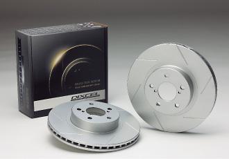 GC インプレッサ | ブレーキローター / リア【ディクセル】インプレッサ WRX GC8 ディスクローター リア 92/11~93/9 A型 (RA含む) SD Type 【スリット 6本】