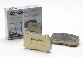 GC インプレッサ | ブレーキパット / フロント【ディクセル】インプレッサ WRX GC8 スポーツパッド フロント 96/9~97/8 D型 RA (15 inch) M Type