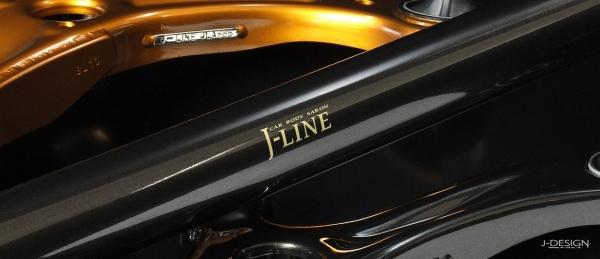 【ジェーライン】フリードスパイク GP3 (HB) 【 H23.10~ 】 リアアクスルキット プレミアブラック [ キャンバー3°] 標準キット 40mm
