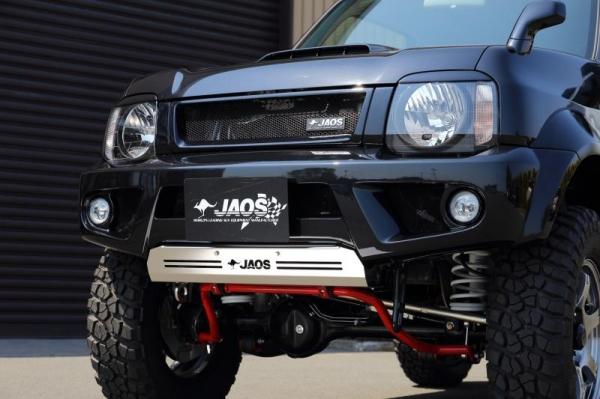 【ジャオス】JAOS フロントスポーツカウル ジムニー JB33/JB43系 FRONT SPORTS COWL JIMNY SIERRA JB33/43W 98+ 【年式: 98.01-】 【適応: JB33/43W】